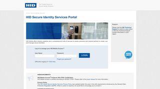 Hid Mobile Access Portal
