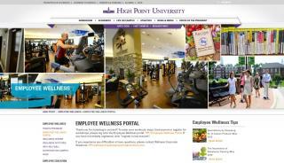High Point University Employee Wellness Portal