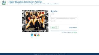 Higher Education Commission Online Portal