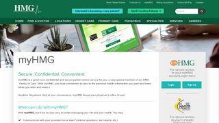 Holston Medical Group Patient Portal