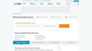 Hoover Road Family Practice Patient Portal