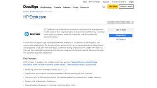 Hp Exstream Partner Portal