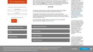 Hpe Supplier Portal
