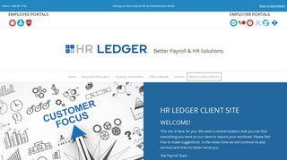 Hr Ledger Employee Portal