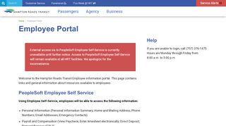 Hrt Employee Portal