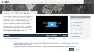 Iaccm Learning Portal