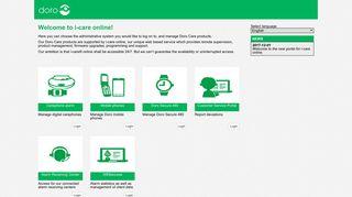 Icare Online Portal