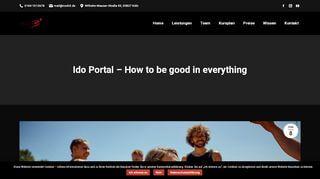 Ido Portal Turnringe