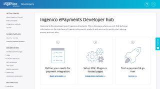 Ingenico Developer Portal