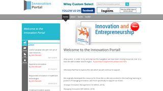 Innovation Portal