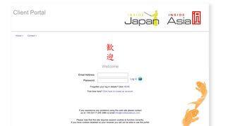 Inside Asia Tours Client Portal