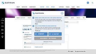 Insite Safran Intranet Portal