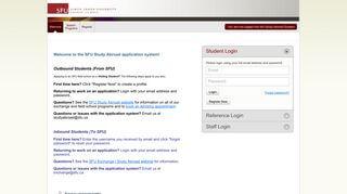 International Portal Sfu