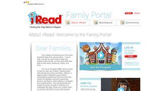 Iread Parent Portal