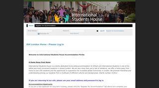 Ish London Housing Portal