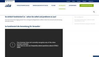 Ista Deutschland Online Portal