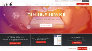 Ivanti Self Service Portal