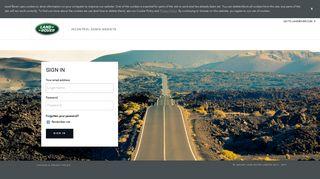 Jaguar Land Rover Dealer Portal