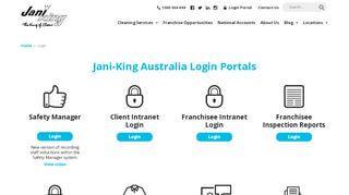 Jani King Portal