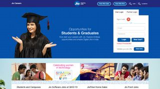 Jio Career Portal