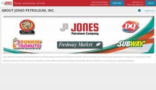 Jones Petroleum Employee Portal