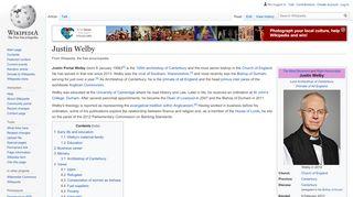 Justin Portal Welby