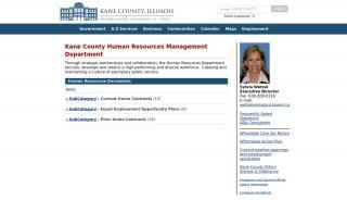Kane County Employee Portal