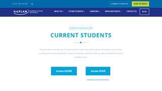 Kbs Student Portal