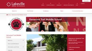 Kenwood Trail Middle School Portal