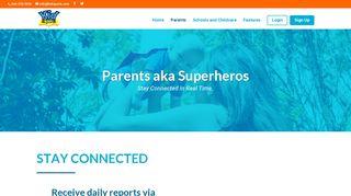 Kid Reports Parent Portal