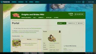Knights And Brides Portal
