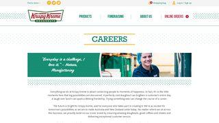 Krispy Kreme Employee Portal