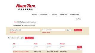 Kwik Trip Employee Portal