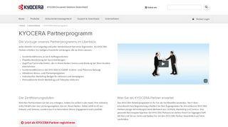 Kyocera Partner Portal