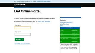 Laa Portal Upgrade