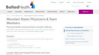 Laughlin Memorial Hospital Employee Portal