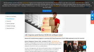Lbc Ramco Payroll Login