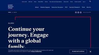 Lbs Alumni Portal