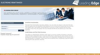Leading Edge Portal