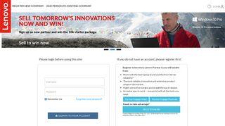 Lenovo Partner Portal