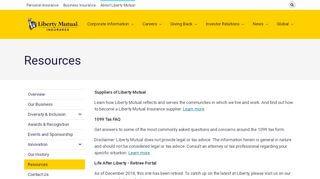 Liberty Mutual Employee Benefits Portal