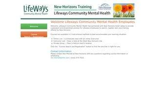 Lifeways Training Portal