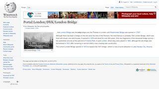 London Bridge Portal