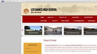 Los Banos Parent Portal