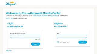 Lotterywest Portal