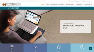 Lpu E Connect E Learning Portal