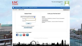 Lsc Co Uk Student Portal