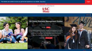 Lsc Dhaka Student Portal