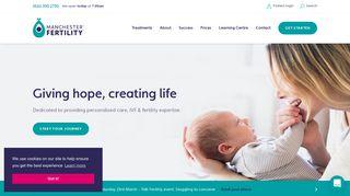 Manchester Fertility Patient Portal