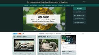 Mayan Calendar Portal